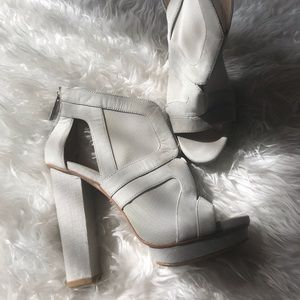 Calvin Klein platform shoes